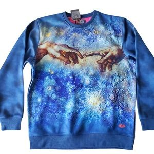 """The Creation"" Art crewneck sweatshirt"